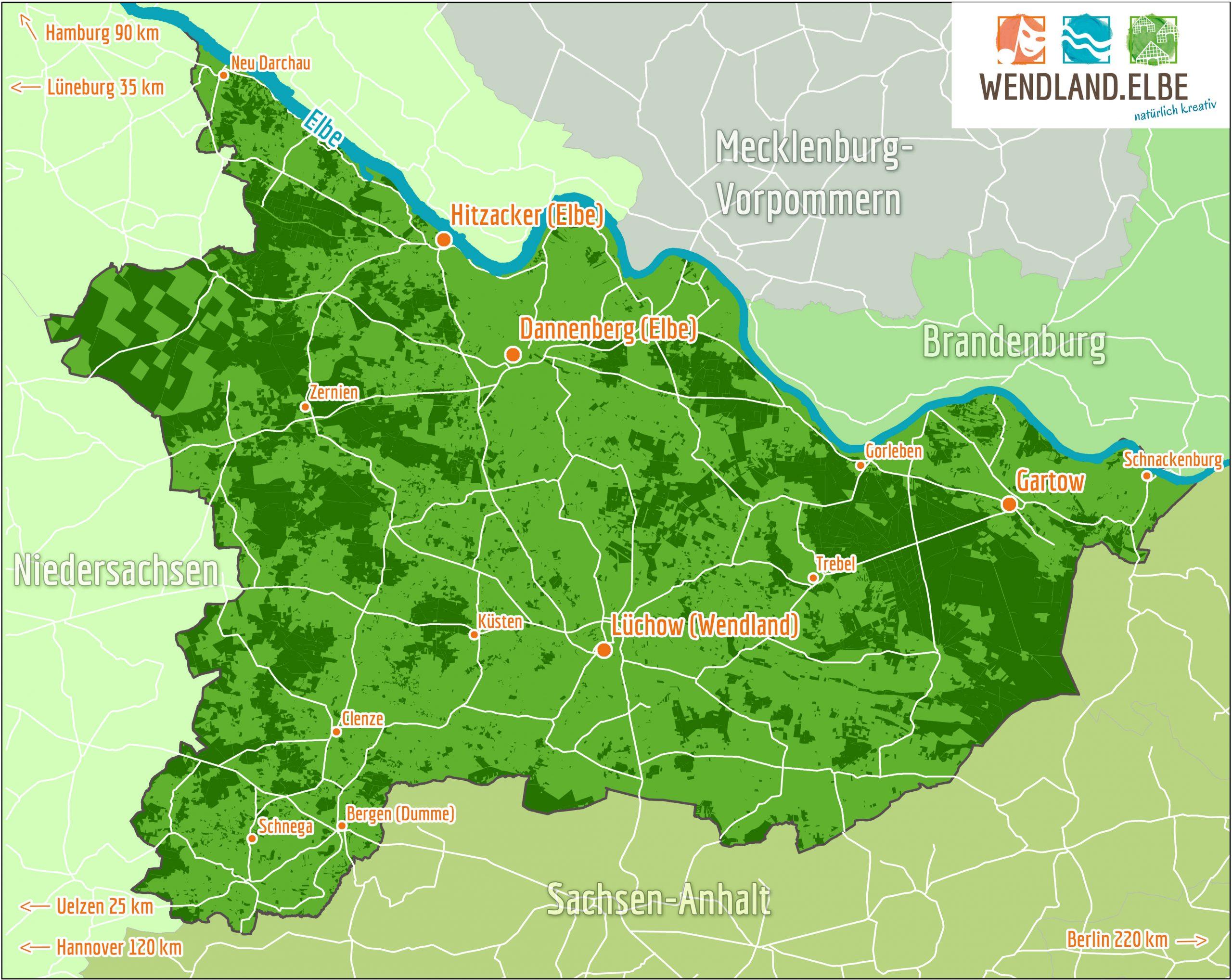Willkommen In Der Urlaubsregion Wendland Elbe Naturlich Kreativ