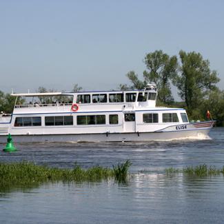 Elbe-Schiffstour im Wendland