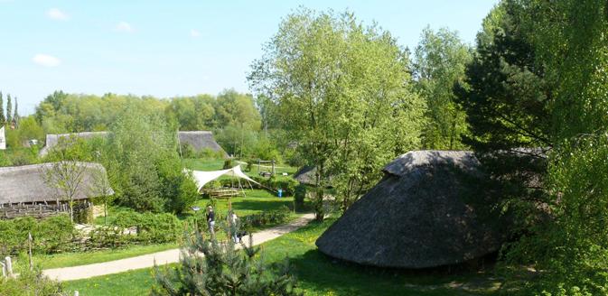 Archäologisches Zentrum Hitzacker_Blick ins Gelände © AZH