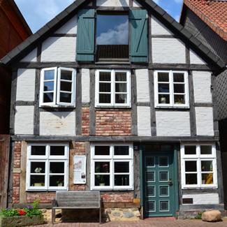 Fachwerkhaus in der Altsatdt von Hitzacker ©Marketingbüro Wendland.Elbe