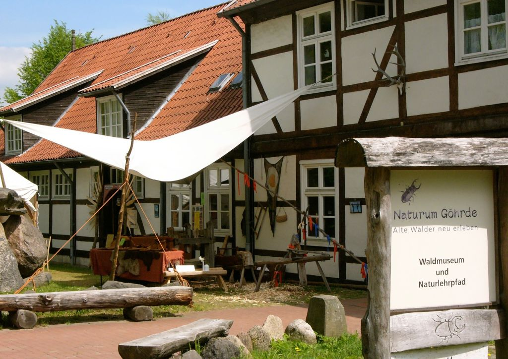 Waldmuseum und Naturlehrpfad Naturum Göhrde im Wendland