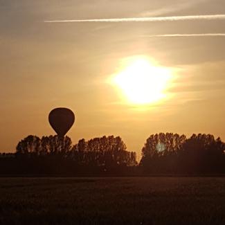 Landung zum Sonnenuntergang©Jörg Freese